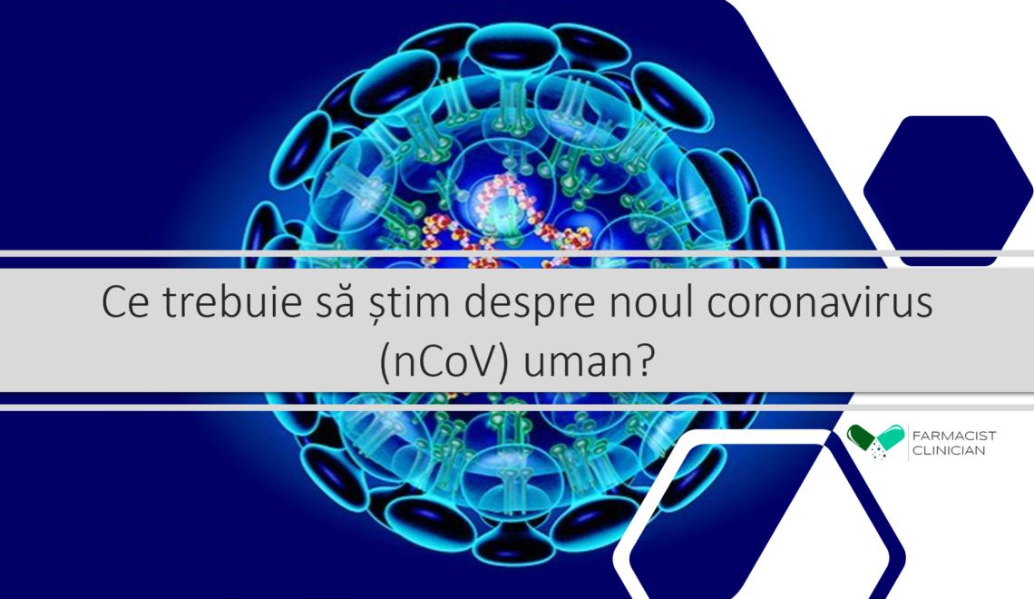 Noul coronavirus.